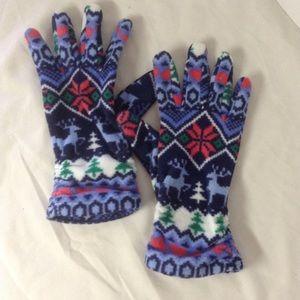 Lands End winter gloves